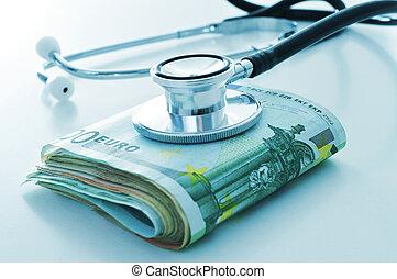 cuidado saúde, indústria, ou, cuidado saúde, custos