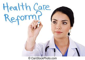 cuidado, saúde, reform