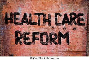 cuidado saúde, reform