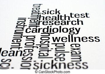 cuidados de saúde, e, médico