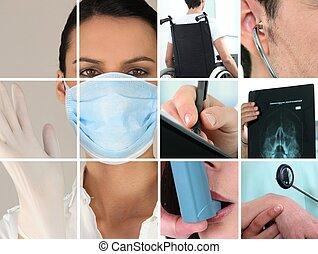 cuidados de saúde, imagens