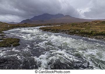 Cuillin Hills -  Isle of Skye - Scotland