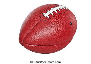 cuir, boule football