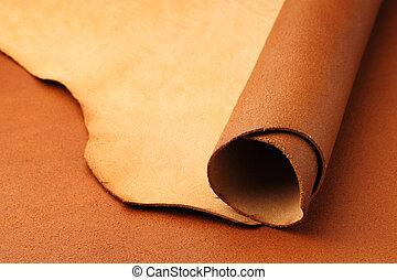 cuir, brun