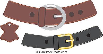 cuir, ceinture