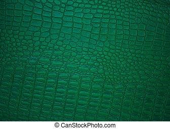 cuir, image, vert, Arrière-plans, classique