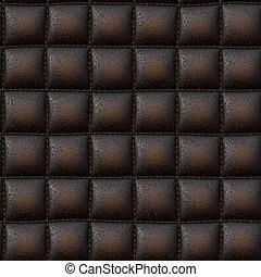 cuir, texture, luxueux