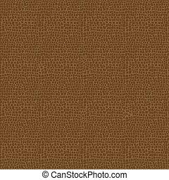 cuir, vecteur, texture