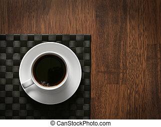 cuire vapeur, café chaud