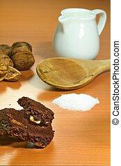cuisant four ingrédients, closeup
