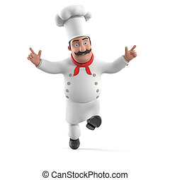 cuisine, chef cuistot