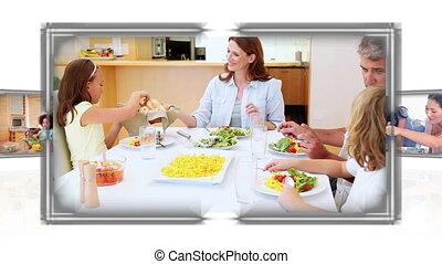 cuisine, famille