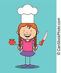 cuisine, gosses, conception