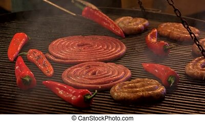 cuisine, grill.