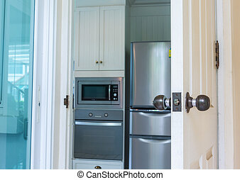 cuisine, intérieur, moderne