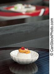 cuisine, japonaise, soucoupe