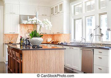 cuisine maison, détail, nouveau