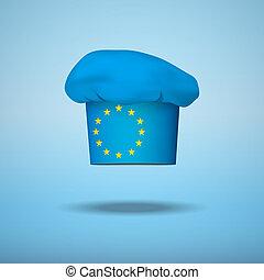 cuisine, national, européen