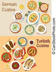 Illustrations et cliparts de choucroute 107 dessins et - Cuisine turc traditionnel ...