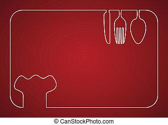 cuisinier, cadre