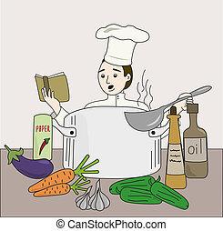 cuisinier, cuisine