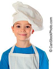 cuisinier, garçon