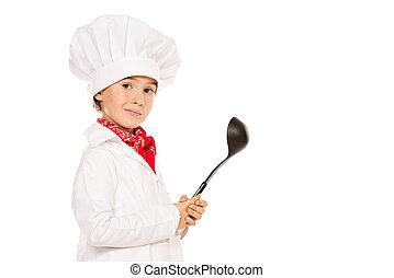 cuisinier, louche