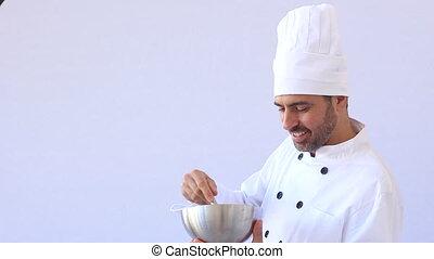 cuisinier, mélange