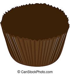 cukierek, pakowacz, czekolada