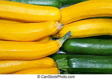 cukkini, növényi