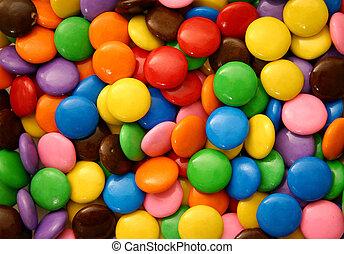 cukorkák, 2, csokoládé