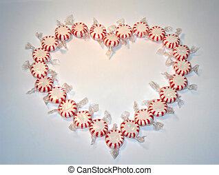 cukorka szív