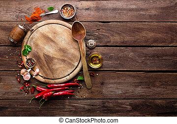 culinário, fundo