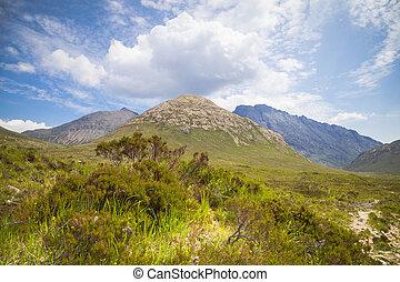 Cullin mountains view, Isle of Skye, Scotland