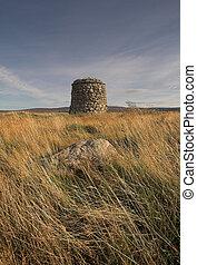 Culloden Moor Battlefield Cairn - Memorial cairn ...