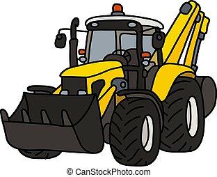 cultivador, amarela