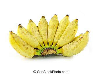 Cultivated banana ripe