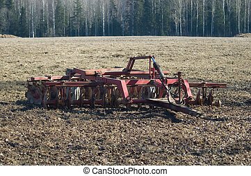 Cultivator - Farming equipment