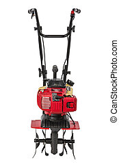 Cultivator , isolated on white background, with clipping path