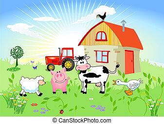 cultive animais