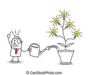 cultive, idéias