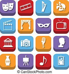cultura, ícones