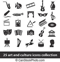 cultura, arte, ícones