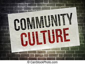 cultura, comunità