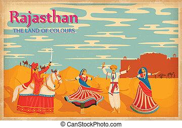 cultura, di, rajasthan