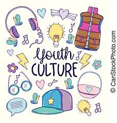 cultura gioventù, cartoni animati