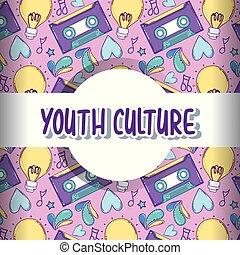 cultura gioventù, motivi dello sfondo