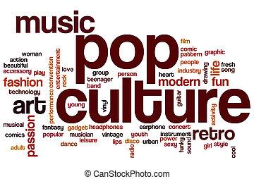 cultura, palabra, taponazo, nube
