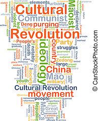 Cultural Revolution background concept - Background concept...