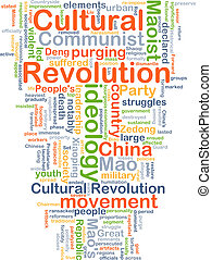 Cultural Revolution background concept - Background concept...